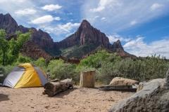 Camping i bjerge