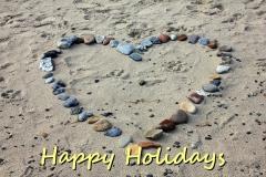 Hjerte i sandet