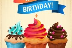 birthsday cupcakes