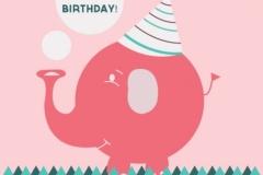 Fødselsdag tegning