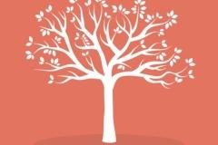 træ med blade