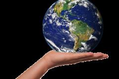 Jorden i din hule hånd