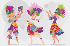 karneval danser