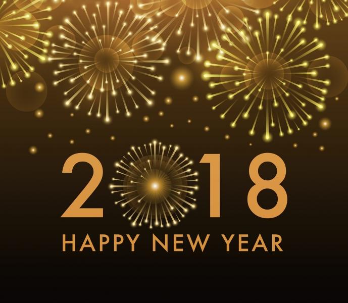 Nytår 2018 fyrværkeri