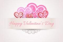 Glædelig Valentinsdag med hjerter